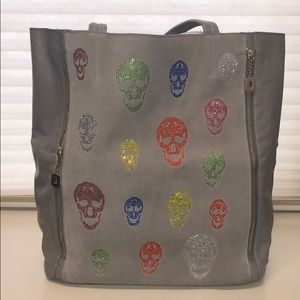 Swarovski Crystal skull bag